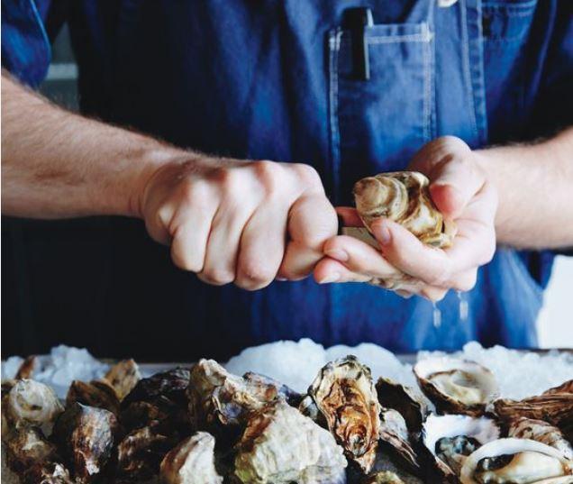 ouverture d'huîtres
